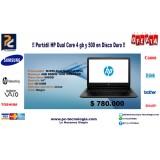 Portátil HP 14-AC142LA