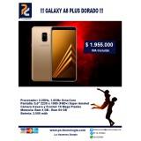 Galaxy A8 Plus Dorado