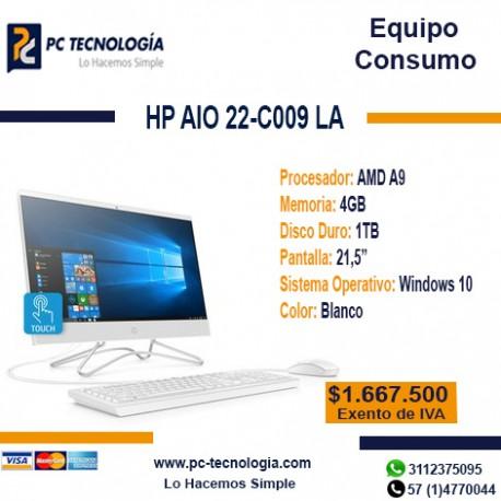 HP AIO 22-C014 LA