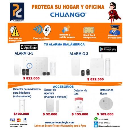 Proteja su hogar y oficina con alarmas Chuango
