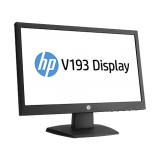 "Monitor HP 18,5"" V193b LED Backlit Monitor"