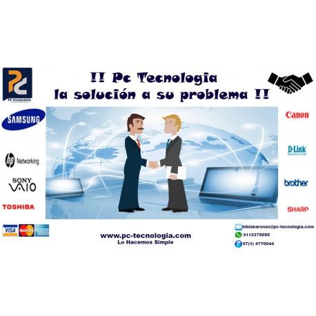 PC Tecnología la solución a su problema.